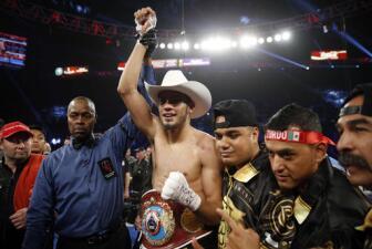 Las fotos de los triunfos de Gilberto 'Zurdo' Ramírez y Oscar Valdez en Las Vegas