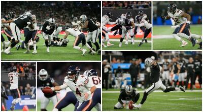 En Fotos: el triunfo de los Oakland Raiders sobre los Bears
