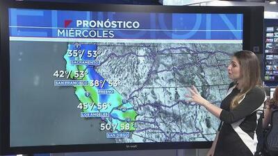 Un poderoso frente frío se desplazará por el sur de California en la noche de este miércoles