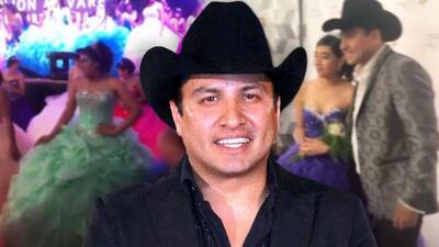 Julión Álvarez apadrina a 118 quinceañeras y cumple el sueño de una de ellas al cantar juntos