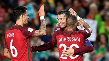 Cristiano Ronaldo comandó goleada de Portugal sobre Letonia