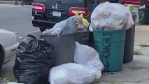 """Residentes de Filadelfia califican la situación de la basura como """"un desastre"""", autoridades anuncian más retrasos"""
