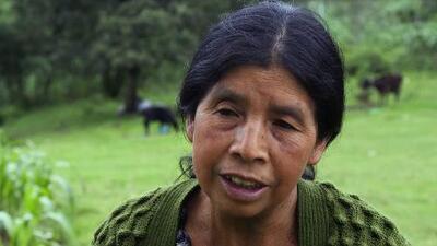 Un microcrédito salvó la vida de esta indígena guatemalteca diagnosticada con cáncer cervical