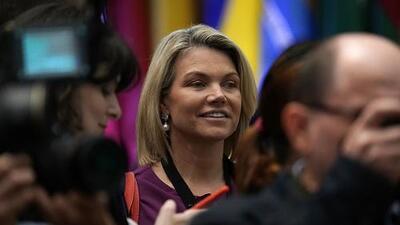 La candidata de Trump para ser embajadora en la ONU, Heather Nauert, renuncia a su postulación