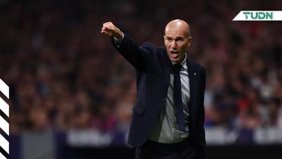 Zinedine Zidane aclara la situación de Courtois