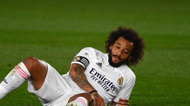 Marcelo se lesiona y el Madrid se queda con tres defensas del primer equipo