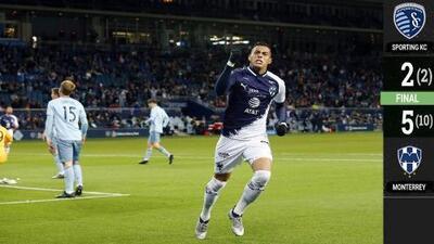 Sporting Kansas City 2-5 Monterrey - GOLES Y RESUMEN - Semifinal- LIGA DE CAMPEONES DE LA CONCACAF
