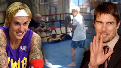 De la nada, Justin Bieber reta a pelear a Tom Cruise (y ya hay voluntarios para organizar el combate)
