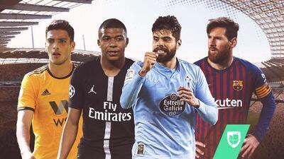 EN VIVO   Día de actividad para Jiménez, Araujo y Alanís, además de que Messi y Mbappé van a escena