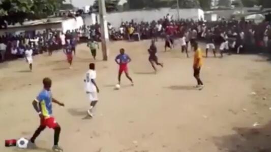 ¡Hay talento! El fútbol callejero de Angola te dejará impresionado