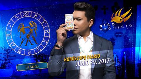 Niño Prodigio - Géminis 29 de junio 2017