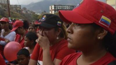 El adiós 'electoral' a Chávez desnuda las carencias de Venezuela