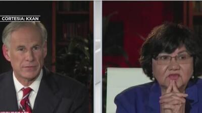 Ecos del debate de Gregg Abbott vs. Lupe Valdez