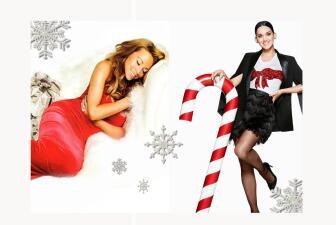 ¡Sexy Navidad con estas cantantes atrevidas!