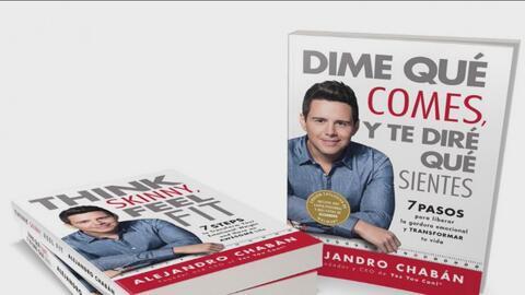 Alejandro Chabán presenta su nuevo libro 'Dime qué comes y te diré cómo te sientes'