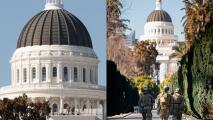 El Capitolio Estatal de California se blinda de cara al día de la toma de posesión de Joe Biden