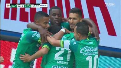 ¡GOOOL! Ismael Sosa anota para León