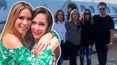 En medio de su dolor, la actriz Sharis Cid viaja a Houston para ver nacer a su primera nieta