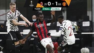 ¡Diablura! Manchester United eliminó a domicilio al AC Milan