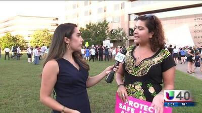 Protesta en contra del juez Kavanaugh