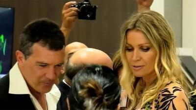 """""""Tengo mucha suerte con Nicole"""": las confesiones de Antonio Banderas durante su paso por el Miami Fashion Week"""