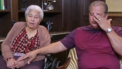 """""""Se ha convertido en mi niña"""": la conmovedora historia de un hijo rescatando los recuerdos de su mamá con Alzheimer"""