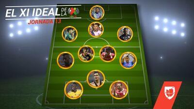 Cruz Azul y Toluca se apropian del XI ideal de la Jornada 13