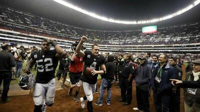 La derrama económica por el partido de NFL en México fue de 45 mdd
