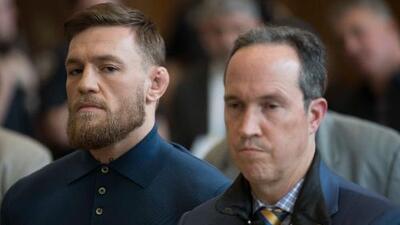 """McGregor se confesó antes de su detención: """"Lo siento pero tenía que hacerlo"""""""