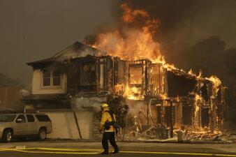 A dos años de la tragedia: así fueron los devastadores incendios en el norte de California (fotos)