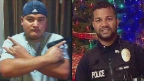 El indocumentado acusado de matar a un policía en California quería cruzar a México