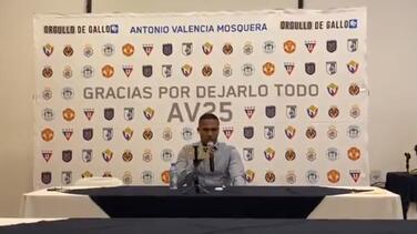 Oficial: Antonio Valencia se retira del futbol