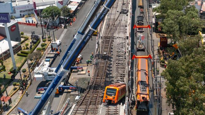 Desde 2014, una consultora alertó de problemas estructurales en la línea 12 del metro de Ciudad de México