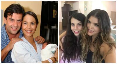 Ana Bárbara expresó su felicidad por haberse convertido en la segunda mamá de Paula, la hija de Mariana Levy