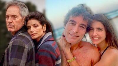 Los famosos 'envejecieron' y mostraron cómo se verán con canas y algunas arruguitas