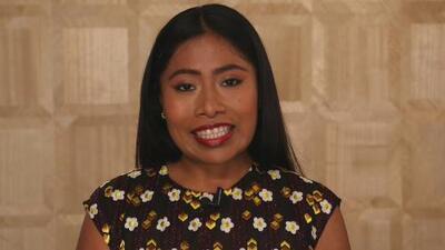Yalitza Aparicio estuvo en Premio Lo Nuestro y envió un mensaje lleno de emoción
