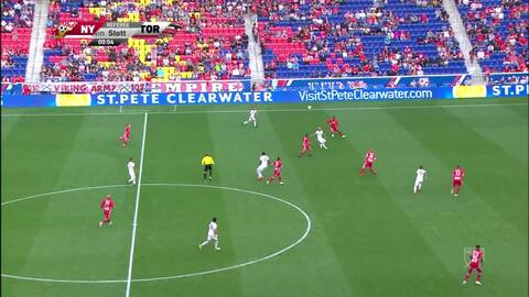 New York Red Bulls 2-0 Toronto FC - GOLES Y RESÚMENES - MLS Regular Season