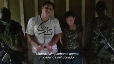 Secuestran a una pareja ecuatoriana en la frontera con Colombia, cerca de donde asesinaron a los periodistas