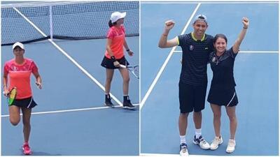 Dos medallas más: México se cuelga oro y bronce en Tenis