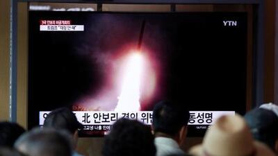 Corea del Norte dispara más proyectiles al mar, su tercera prueba balística en los últimos ocho días