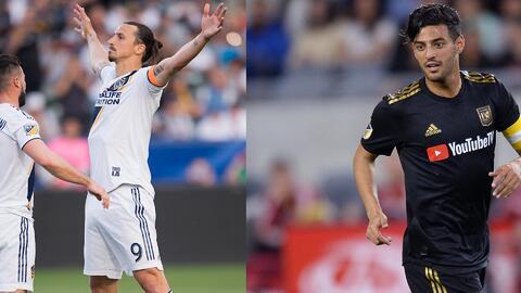 Zlatan busca alcanzar a Carlos Vela en la nueva fecha de la MLS