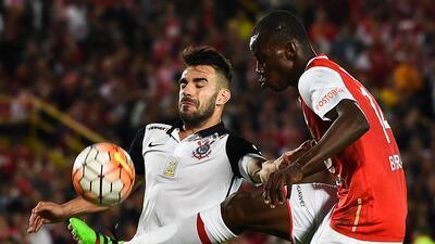 Corinthians le arrebata un punto a Independiente Santa Fe y es líder de grupo