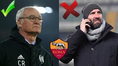 La Roma ya tiene DT pero despide al director deportivo que pretendía a Héctor Herrera