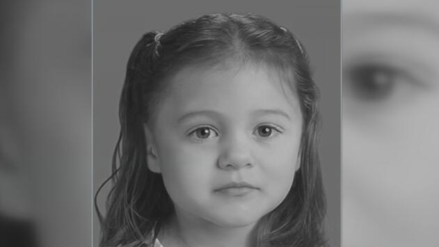 Revelan un boceto del que sería el rostro de una niña cuyos restos fueron encontrados en un parque