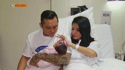 Así fue el nacimiento de la tercera hija de Edwin Luna, vocalista de La Trakalosa de Monterrey