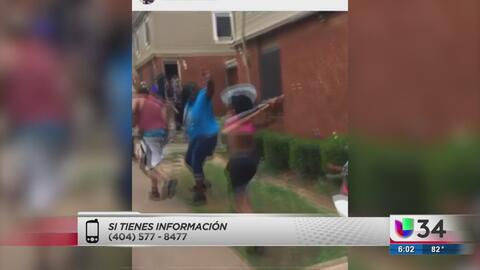 EN VIDEO: Investigan trifulca presuntamente grabada en Atlanta
