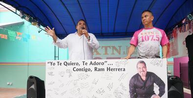 KXTN Hosts 'Get Well Soon' Event for Ram Herrera
