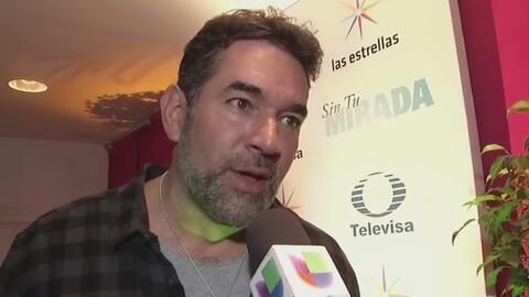 Eduardo Santamarina reconoce que fue a terapia con su esposa, pero niega que sea por una crisis