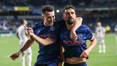 "David Villa celebró la victoria ""con mucha personalidad"" de NYCFC frente a Minnesota"