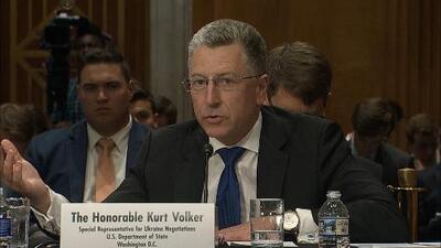 En un minuto: El ex enviado de EEUU a Ucrania declara ante el Congreso en el marco de investigación a Trump